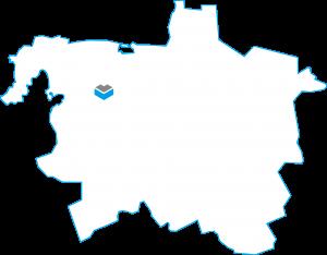 Darstellung einer Karte von Hannover mit dem Projekt Hainbase der Cube Life