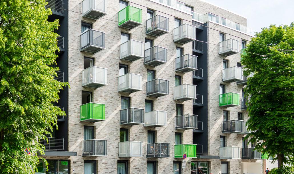 Cube Life, Merziger Straße Außenansicht