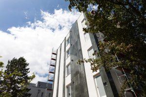 Außenansicht des Barton Living der Cube Real Estate